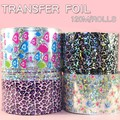 Dragonfly Pentagram Pattern Nail Art Foil Nail Sticker Nail Art Transfer Foil Roll