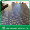 15mm plastic film , 4'x8'/1250mm x 2500mm film faced shuttering plywood/marine plywood used as concrete formwork