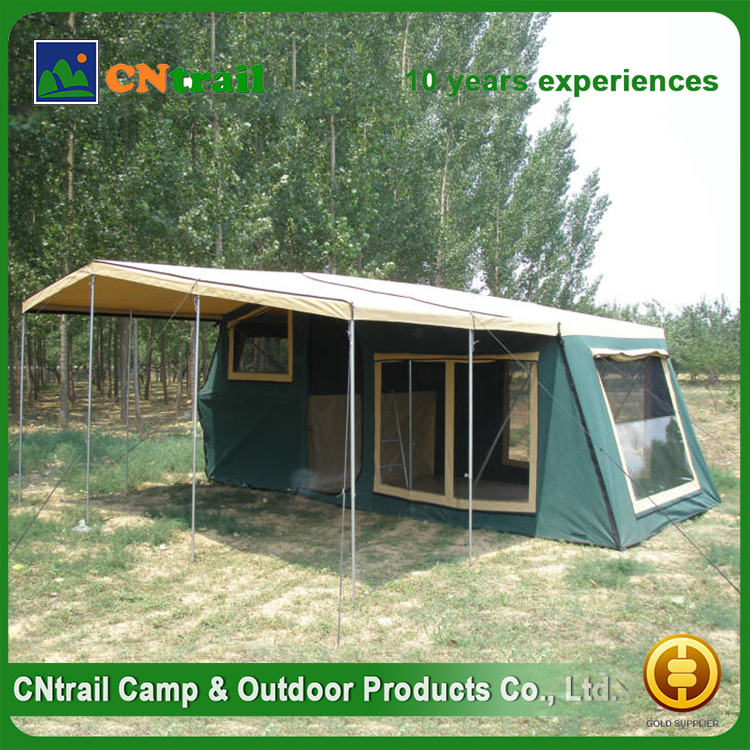 wholesale products china outdoor waterproof retractable explorer camping adventure easy carry trailer tent 5 person