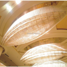 decoractive crystal hotel lobby project ceiling pendant chandelier