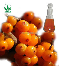 bulk seabuckthorn fruit oils with alibaba GMP certified chinese factory supply, essential oil, plant oil