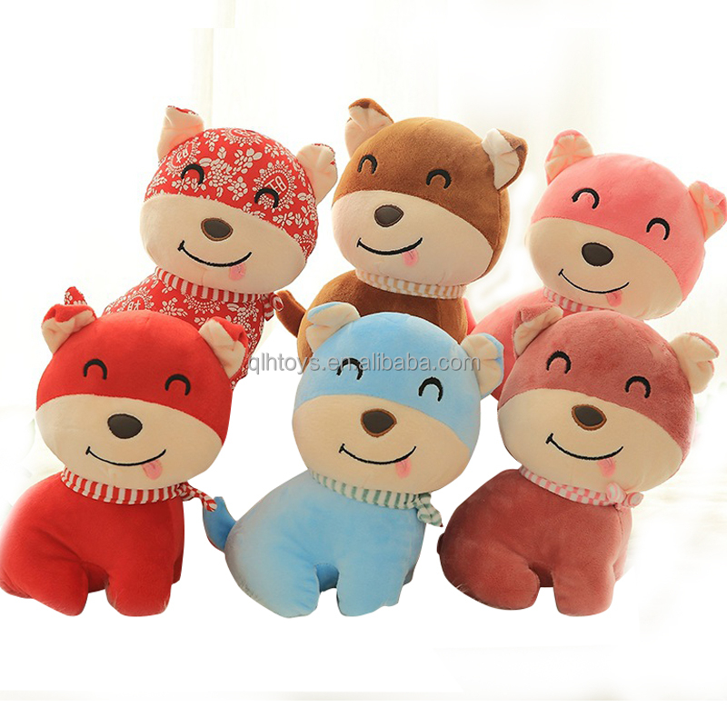 Wholesale Cute Pure Plush Walking Barking Puppies Dog toys