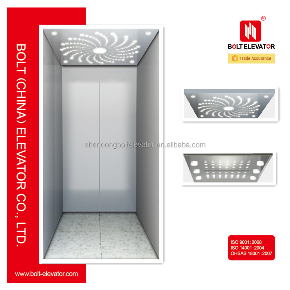 2 Persons To 5 Persons 200kg To 400kg Small Home Elevators