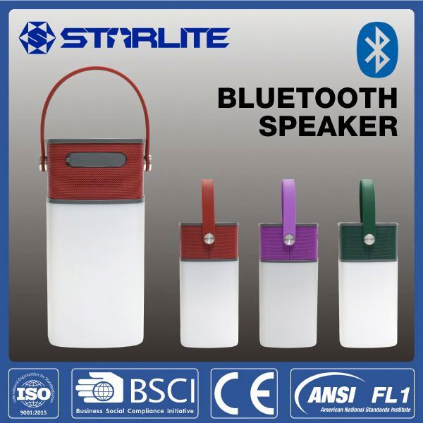 STARLITE colorful 8led lantern rechargeable new for garden bluetooth speaker