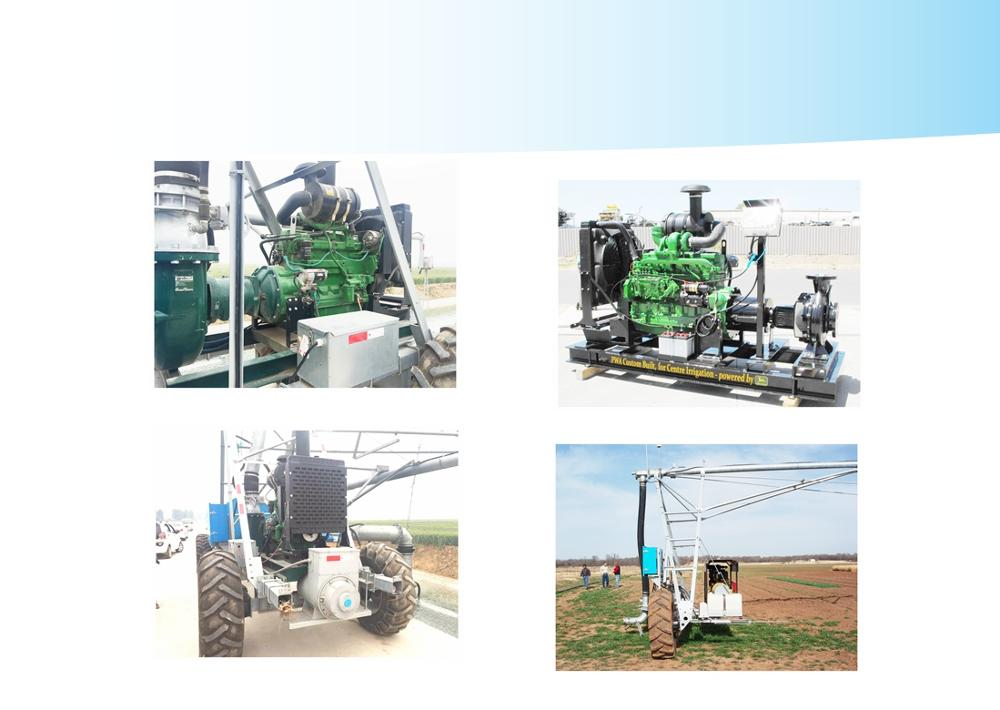 valley style remote control auto reverse four wheel linear rainger move irrigation machine system