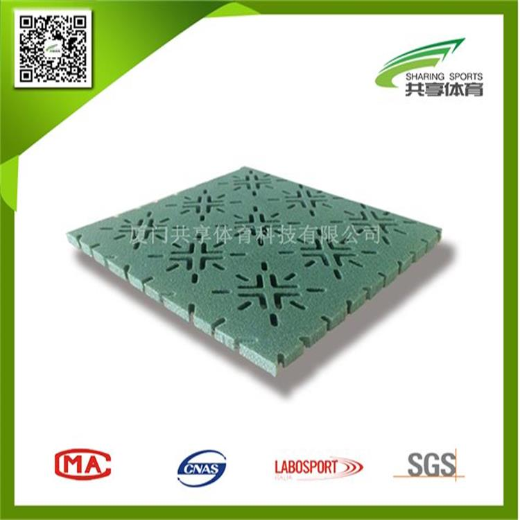 High Performance synthetic turf shock pad
