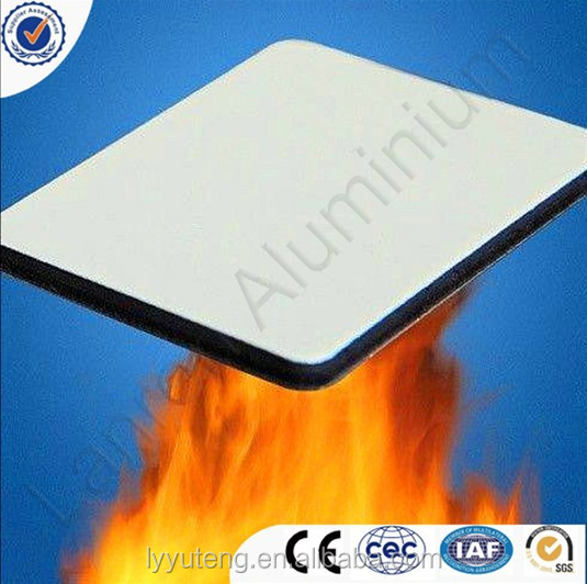 B1 fireproof aluminum composite panel for construction material