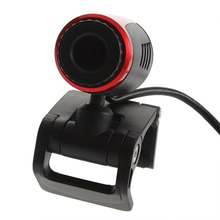 Waterproof USB Webcam 2.0 Clip Instal WebCam Web Camera w/ MIC Microphone PC Camera Webcam Drivers