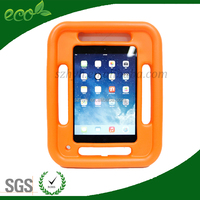 fashionable Eva cases for kids EVA Portable hand-held stand tab cover for iPad mini tablet PC