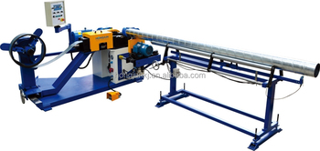 Flexible metal sheet ducting machine ----HJTF1500F(saw cutting)