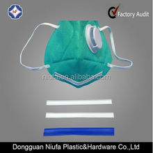 double core plastic twist tie/double nose wire for face mask