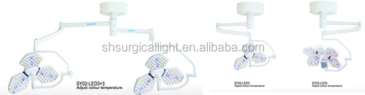 Adjust Color Temperature SY02 LED5 Operating Lamp Instruments Surgical