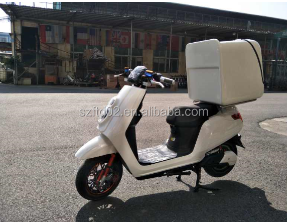 800w electric motorcycle fast speed fast food delivery scooter