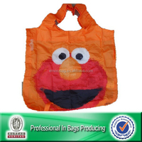 Lead-free Paint Portable 210D Polyester Foldable Nylon Eco Bag
