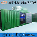 CE approved gas generator 10kw to 1000kw