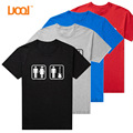 Luoqi Brand Crew Neck Short Sleeves 180g 100% Combed Cotton Blank Custom Screen Printing Mens T Shirt Design
