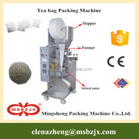 Hot sale price JX001 Automatic tea leaf bag packaging machine with thread