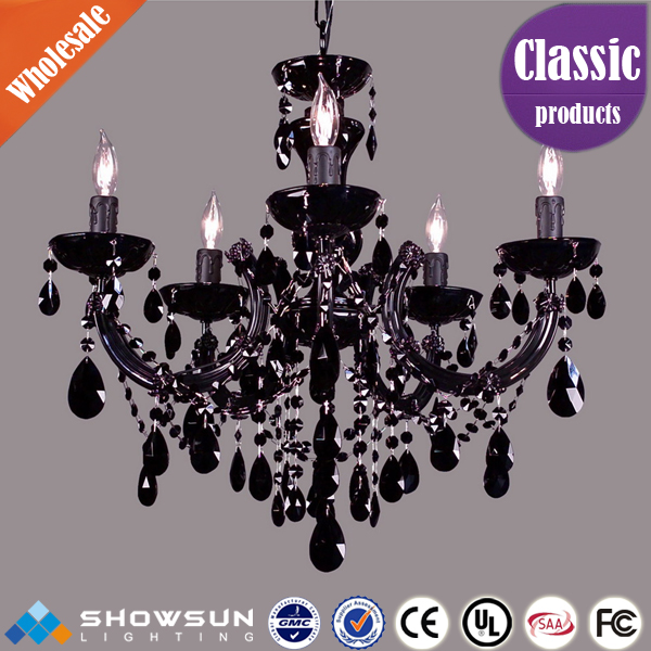 Coffee house exotic crystal chandelier lighting
