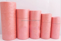 High-end Craft Paper Tube /Eco-friendly Essential Oil Packaging Tube Box/tea/pen container