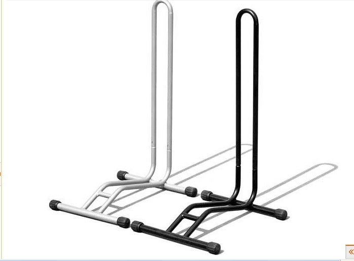 L type one bicycle frame bike parking stand portable rack (ISOapproved)
