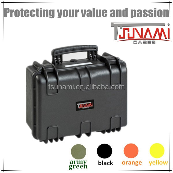 IP67waterproof strong foam plastic photographic case equipment tool box