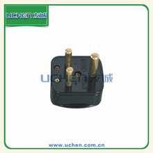 Uchen supply south africa with 3 pin electrical industrial plug 250V