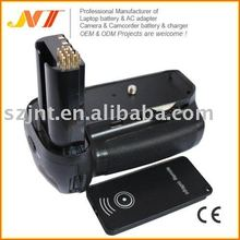 Battery hand holder grip for Nikon D80 D90 with IR remote