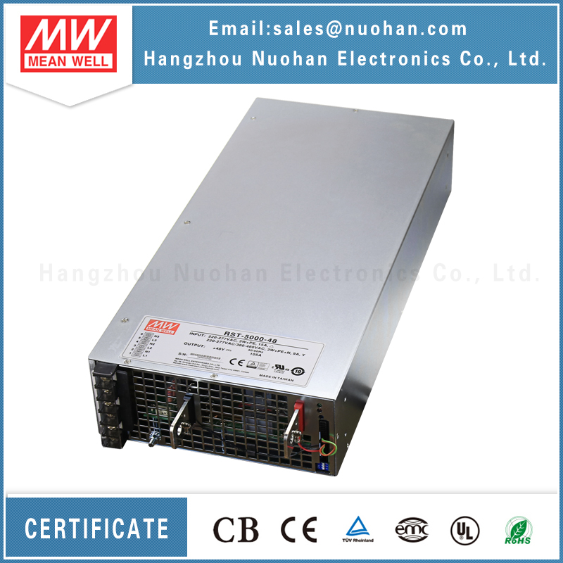 Meanwell 5000W 48V power supplies/5000W Single Output switching power supply/Parallel/48v enclosed switching power supply