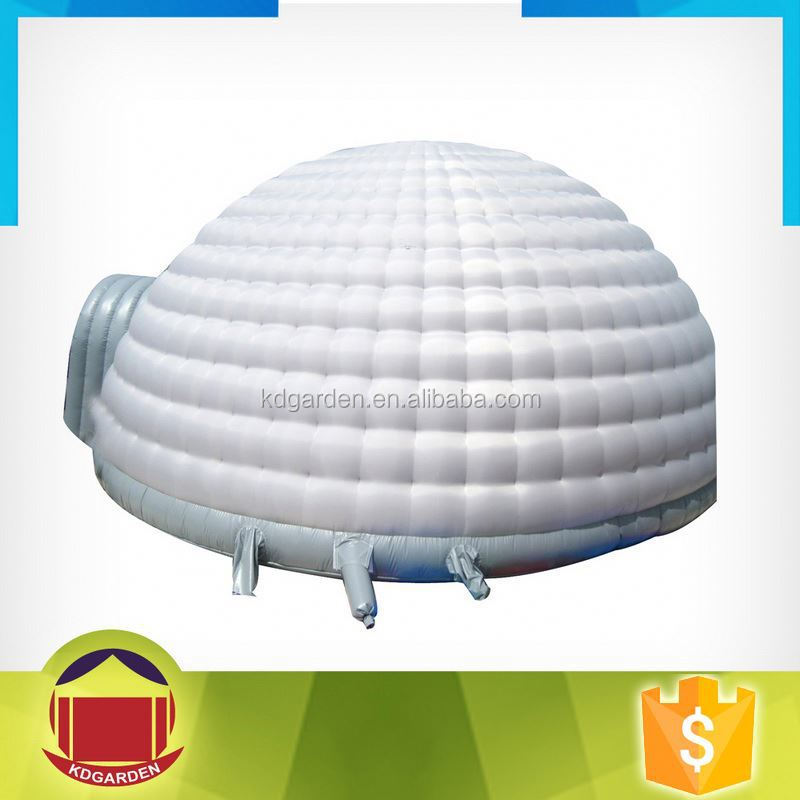 Inflatable dome party tent