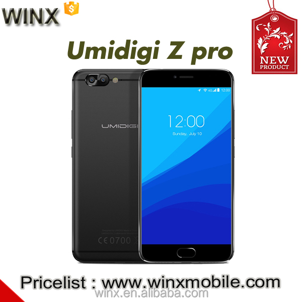 WINX new phone.UMI Z PRO MTK Helio X27 4GB RAM 32GB ROM 5.5 Inch 2.5D FHD Screen Android 6.0 4G LTE Touch ID Smartphone