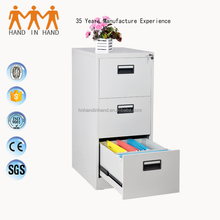 2016 low price 3 drawers steel storage cabinet/filing cabinet