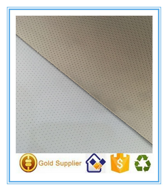Factory Punched PU coted nonwoven