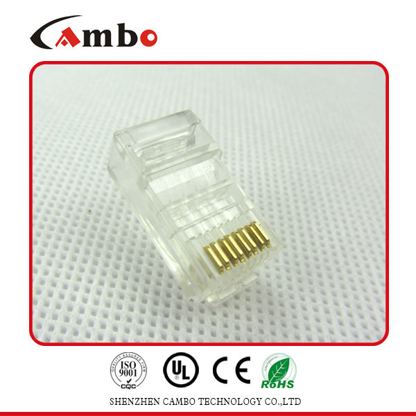Nice price UTP/FTP CAT5E/CAT6 Stranded Solid network cable 8P8C unshielded/shielded Gold Plated jacks rj45