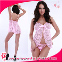 low price hot selling wholesale sex lingerie sex miss babydoll lingerie