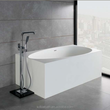 K05 New cheapest price American environmental solid surface one person shallow bathtub