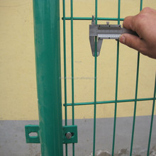 alibaba express Green coated welded metal fencing panels