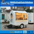 Favorable price High Quality mobile food cart trailer hamburger trailer for sale