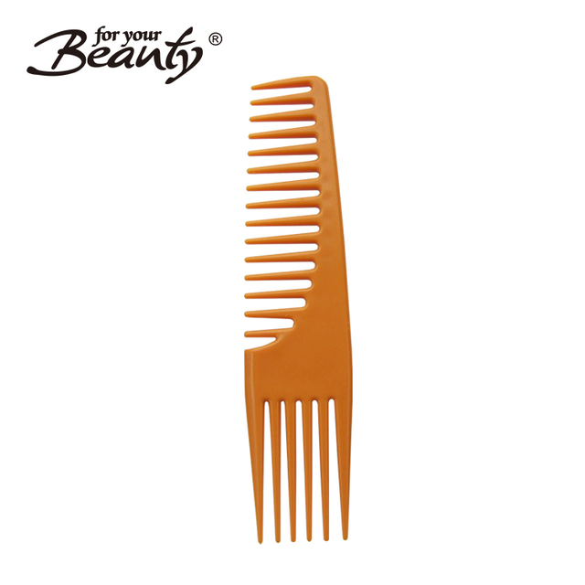 Guangdong factory two side beard brown color hair cutting comb