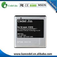 new arrival rechargeable batteries B740AE for Samsung C1010 Galaxy S4 Zoom battery