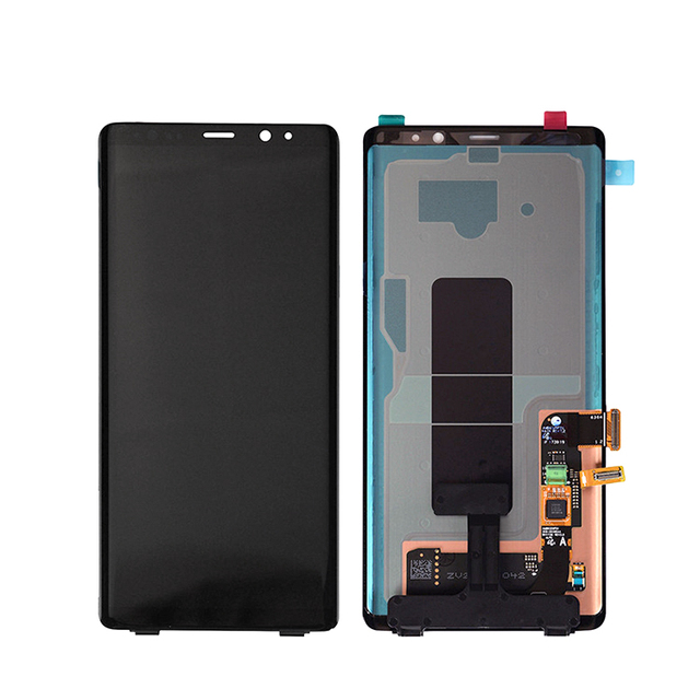 For Samsung Galaxy note 8 screen touch,alibaba express mobile lcd screen with frame for Samsung note8 cell phone parts