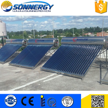 Custom logo solar water heaters as systems for home use