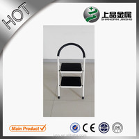 2014 jiaxing metal two step adjustable flexible werner step ladder