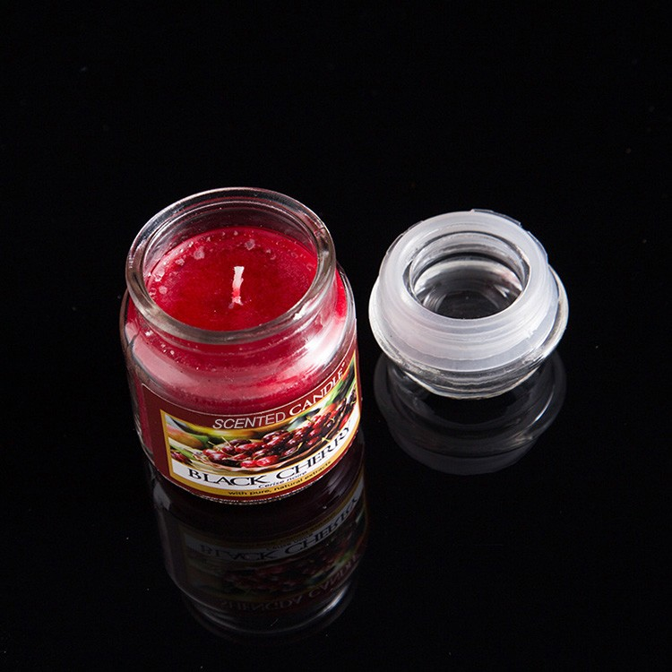 China candle factory hot selling small size various flavors yankee style wax aroma candle,2.5oz
