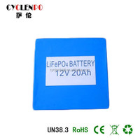 lifepo4 battery pack 12v 20ah battery 12v 20ah batteries electric scooter