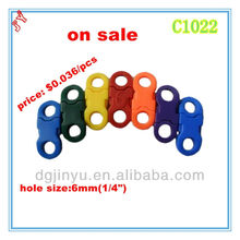 6mm Popular Logo Custom Plastic Side Release Buckle for Pet Collars and Paracord Necklace