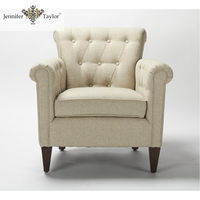 Jennifer Taylor modern fabric furniture single seat sofa/ household furniture comfortable arm chair