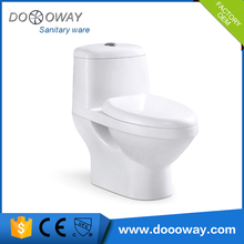 Popular best quality bathroom ceramic washdown one piece toilet