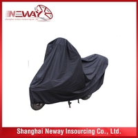China good supplier latest plastic cheap motorcycle cover