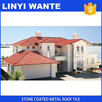 Professional factory Galvanized Metal Roof tile with Long Service Life
