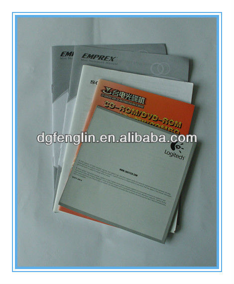 Promotional product booklet printing
